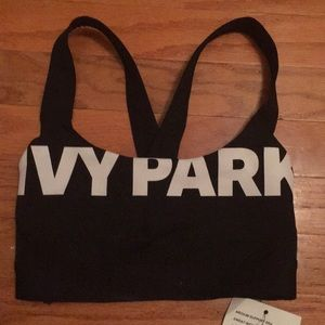 NWT Ivy Park Cropped Sports Bra XXS